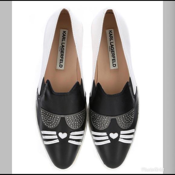 Karl Lagerfeld Womens Black Avery Cat